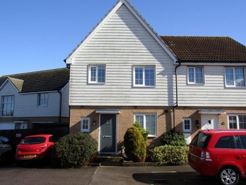 Thumbnail End terrace house to rent in Heron Way, Dovercourt, Harwich