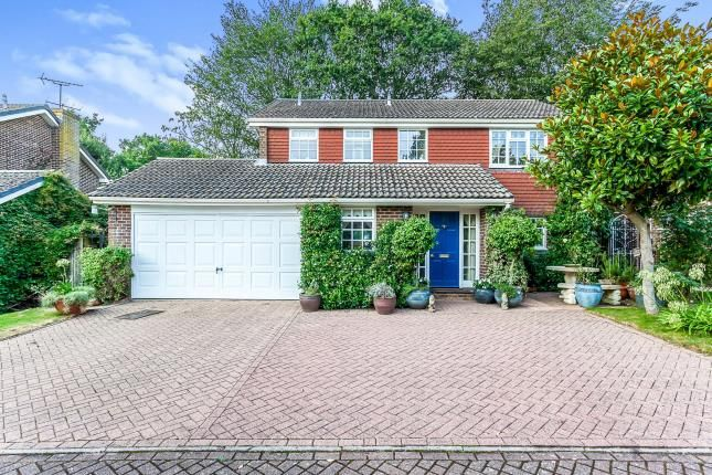 Thumbnail Detached house for sale in Sharpthorne Close, Crawley, West Sussex