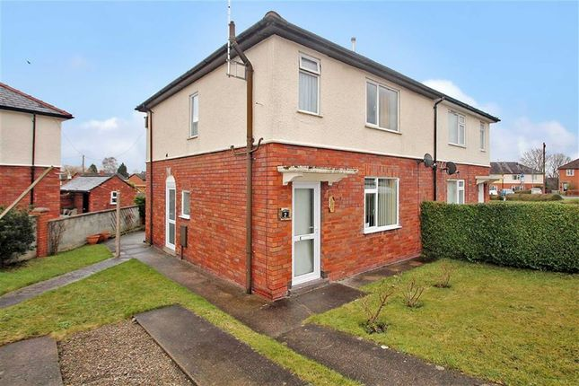 Thumbnail Semi-detached house for sale in Greenfields, St. Martins, Oswestry