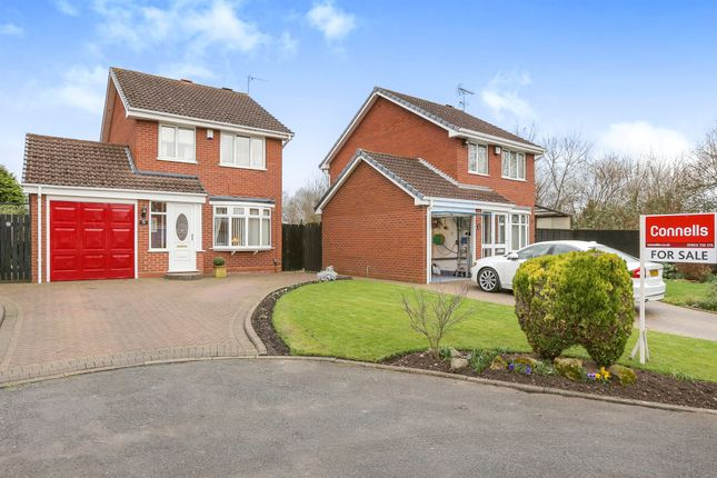 Thumbnail Detached house for sale in Wychall Drive, Moseley Meadows, Wolverhampton