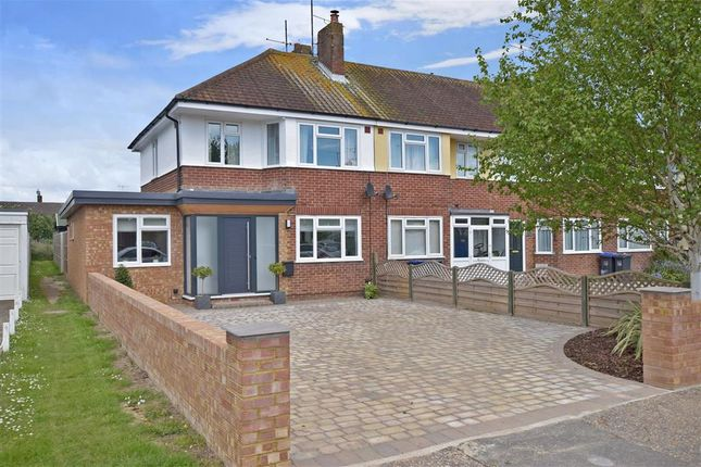 Thumbnail End terrace house for sale in Ardingly Drive, Goring-By-Sea, Worthing, West Sussex