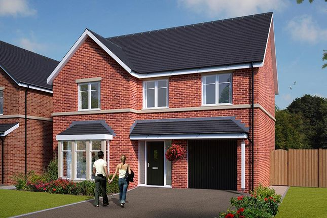 """Thumbnail Detached house for sale in """"The Norbury"""" at Standbridge Lane, Crigglestone, Wakefield"""