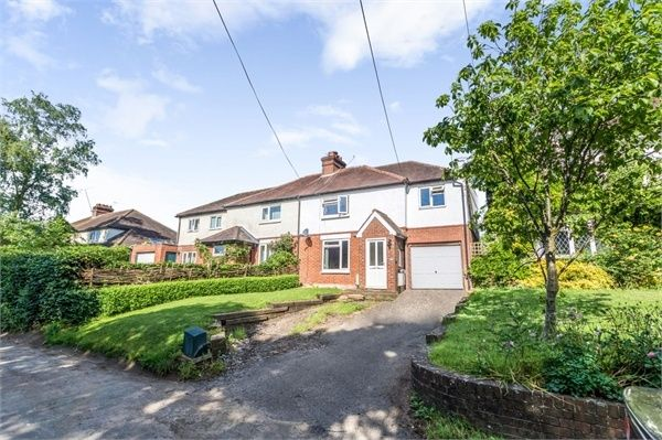 Thumbnail Semi-detached house for sale in Alton Road, South Warnborough, Hook, Hampshire