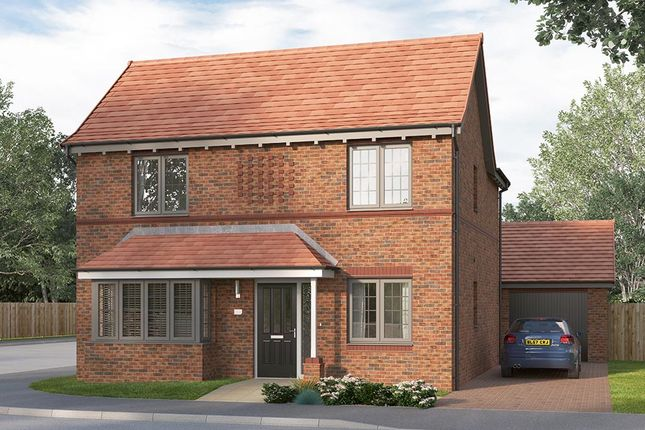"""Thumbnail Detached house for sale in """"The Purbeck"""" at Olympus Avenue, Tachbrook Park, Warwick"""