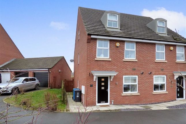 Thumbnail Semi-detached house for sale in Colliers Way, Cannock, Staffordshire
