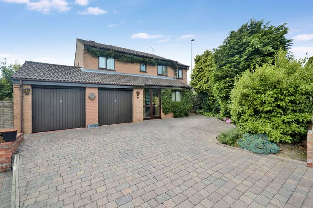 Thumbnail Detached house for sale in Tynedale Close, Oadby, Leicester