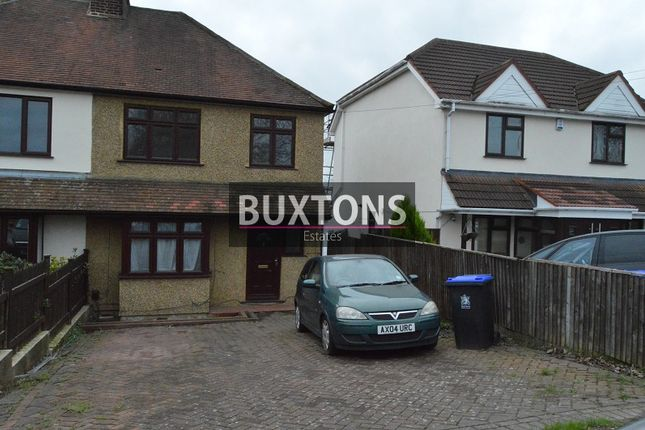 Thumbnail Semi-detached house to rent in Stomp Road, Burnham, Slough, Berkshire.