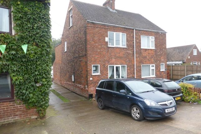 Thumbnail Semi-detached house for sale in Sluice Road, South Ferriby, Barton-Upon-Humber