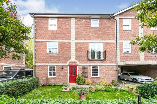 Thumbnail Town house for sale in Theobalds Close, Long Melford, Sudbury