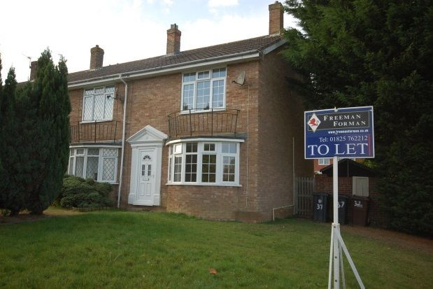 Thumbnail End terrace house to rent in Browns Lane, Uckfield