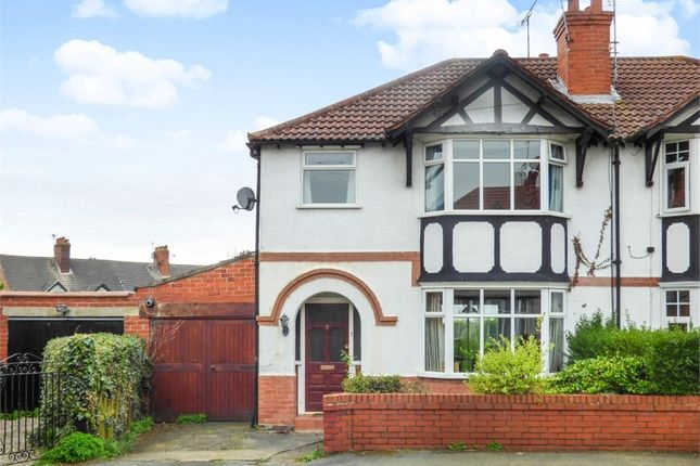 Thumbnail Semi-detached house for sale in Sheldon Avenue, Vicars Cross, Chester, Cheshire