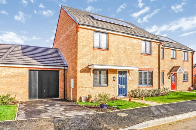 Thumbnail Semi-detached house for sale in Merlin Road, Priors Hall, Corby