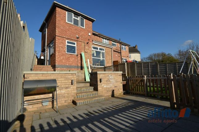Thumbnail Semi-detached house to rent in Silbury Road, Leicester
