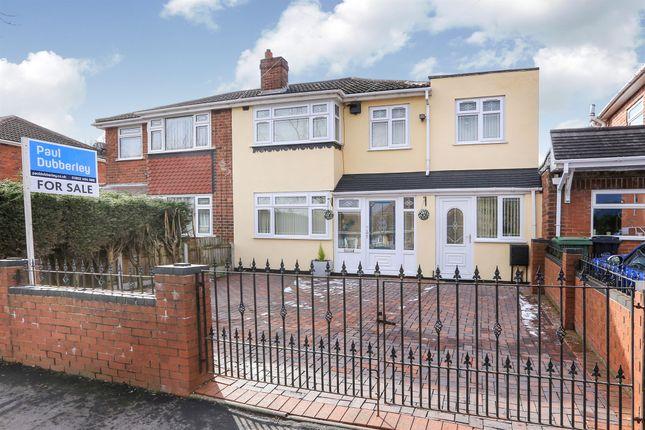 Thumbnail Semi-detached house for sale in Paul Street, Coseley, Bilston