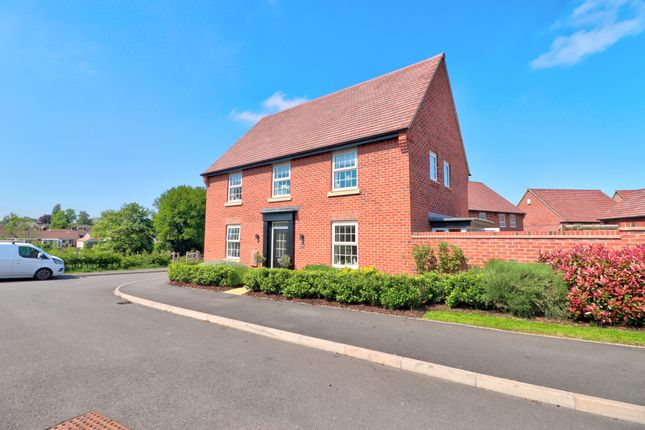 Thumbnail Detached house for sale in Hoskins Lane, Newton Solney, Burton-On-Trent