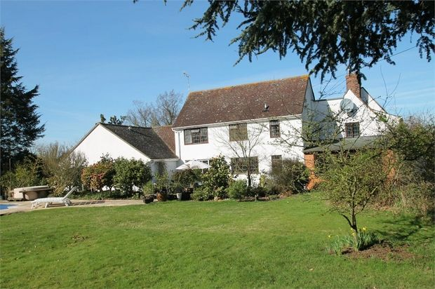 Thumbnail Detached house for sale in Heath Road, Fordham Heath, Colchester, Essex