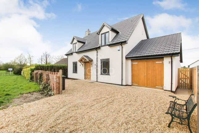Thumbnail Detached house for sale in East Fen Common, Soham, Ely