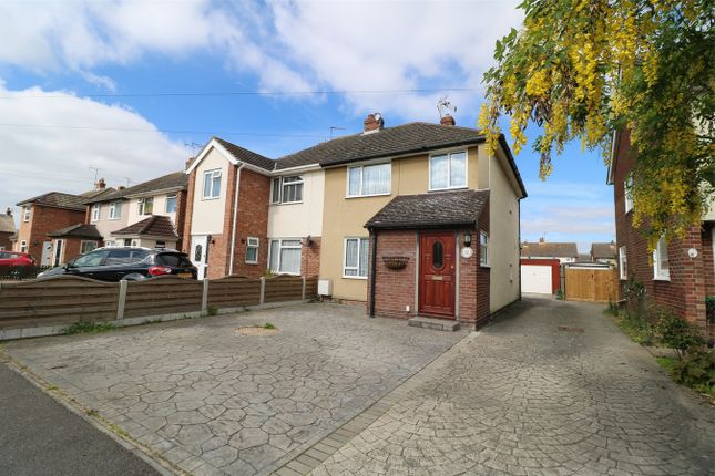 Thumbnail Semi-detached house for sale in Broomfield Crescent, Wivenhoe, Essex