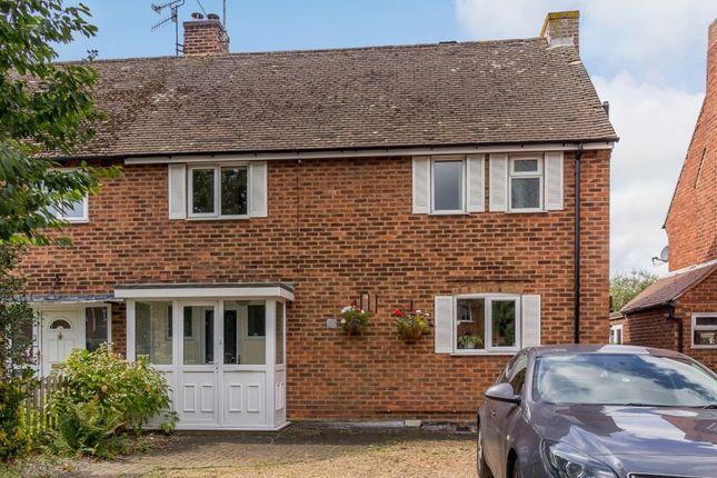 Thumbnail Semi-detached house for sale in Lawson Avenue, Stratford-Upon-Avon, Warwickshire