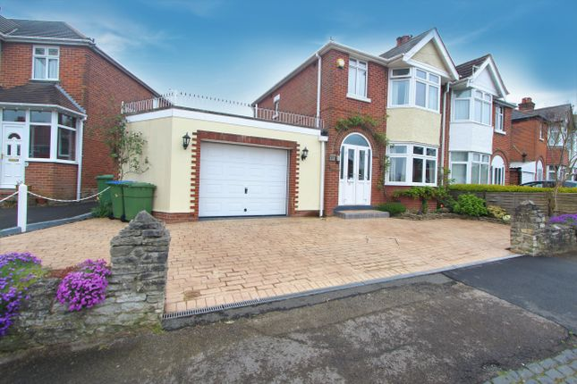 Thumbnail Semi-detached house for sale in Deacon Crescent, Southampton