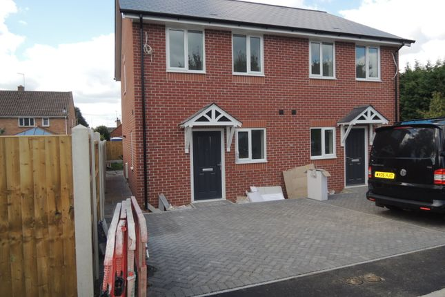 Thumbnail Semi-detached house for sale in 43 Brook Road, Wimborne