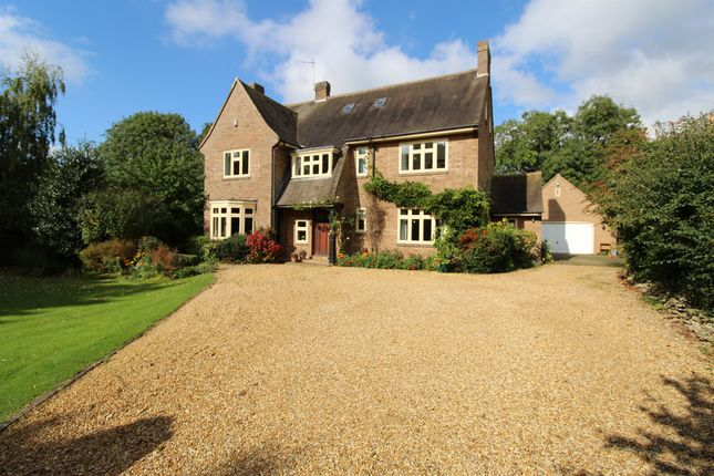 Thumbnail Detached house for sale in The Covert, Thorpe Road, Peterborough