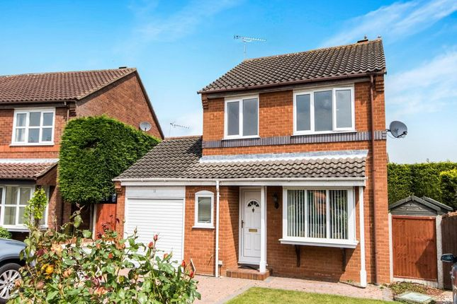 Thumbnail Detached house for sale in Windsor Close, Sudbrooke, Lincoln