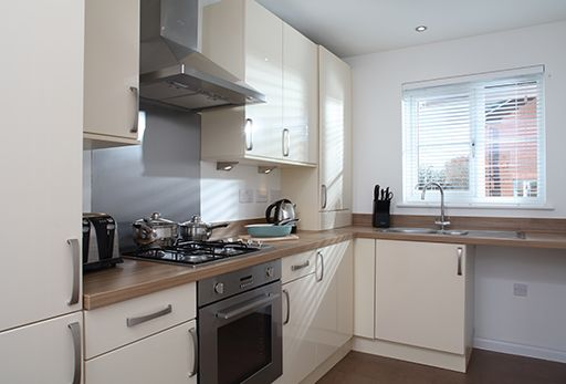 """Thumbnail Terraced house for sale in """"Aston"""" at Close Lane, Alsager, Stoke-On-Trent"""