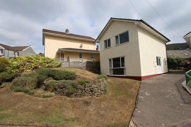 Thumbnail Detached house for sale in Farm Close, Abertridwr, Caerphilly
