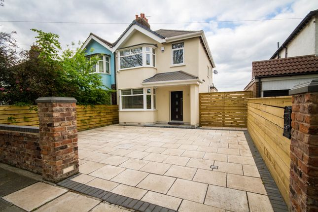 Thumbnail Semi-detached house for sale in Childwall Road Liverpool, Liverpool