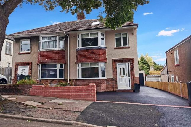 Thumbnail Semi-detached house to rent in Three Arches Avenue, Cardiff