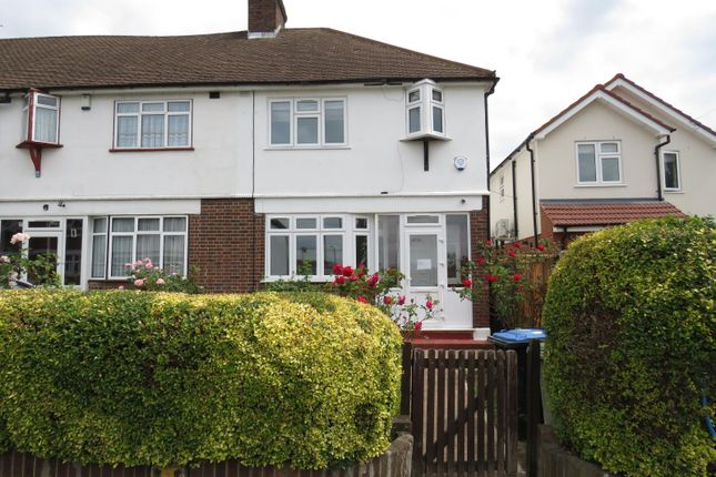 Thumbnail 3 bed end terrace house for sale in Craigmuir Park, Wembley, Middlesex