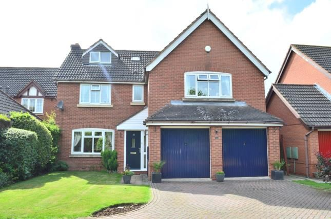 Thumbnail Detached house for sale in Coppice Grove, Lichfield, Staffordshire