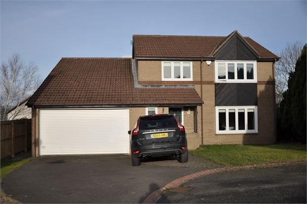 Thumbnail Detached house for sale in Elm Close, Hexham, Northumberland.