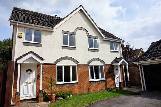 Thumbnail Semi-detached house for sale in Hedgerow Close, Southampton
