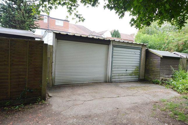 Garage of Ashby Avenue, Chessington, Surrey. KT9
