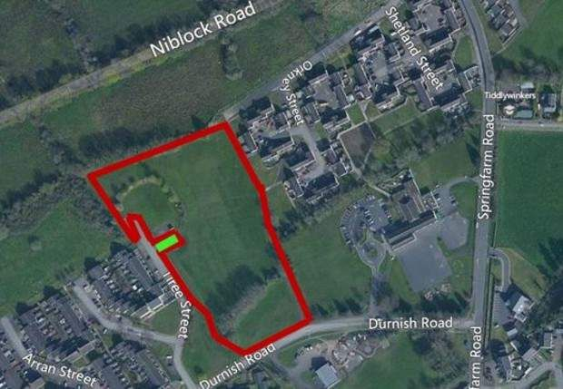 Land for sale in Tiree Street, Dunadry, Antrim