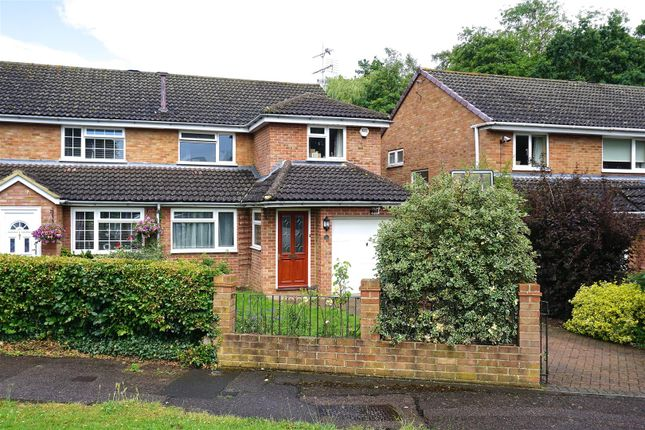 Thumbnail Semi-detached house for sale in Tennyson Avenue, Hitchin