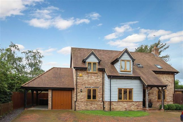 Thumbnail Detached house for sale in Bakerswood Close, Woburn Road, Heath And Reach, Leighton Buzzard