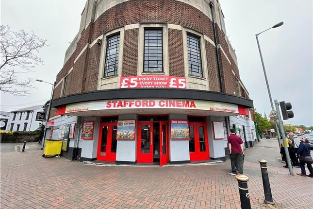 Thumbnail Commercial property for sale in The Stafford Cinema, Newport Road, Stafford, Staffordshire