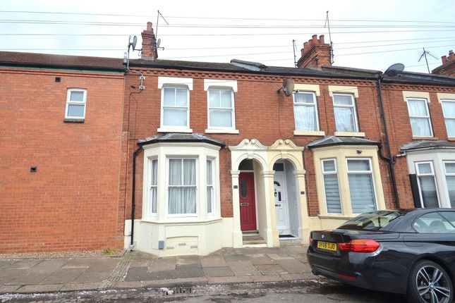 Thumbnail Terraced house to rent in Wycliffe Road, Northampton
