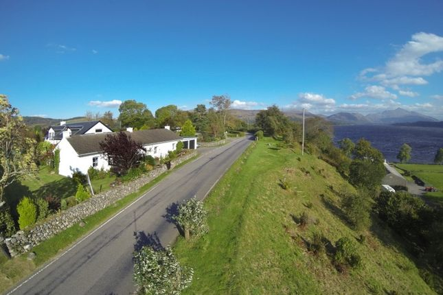 Thumbnail Detached house for sale in Moorcroft & Plot, North Connel, Argyll