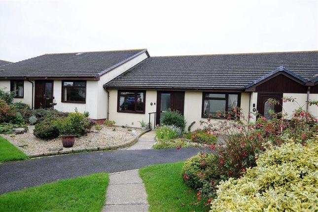 Thumbnail Terraced bungalow for sale in Heard Close, Hartland, Bideford, Devon