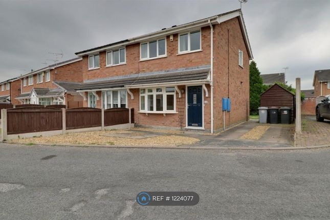 3 bed semi-detached house to rent in Rochester Crescent, Crewe CW1
