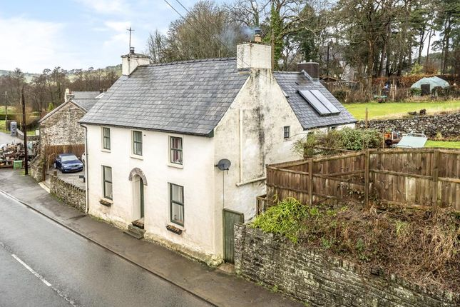 Thumbnail Detached house for sale in Trecastle, Powys