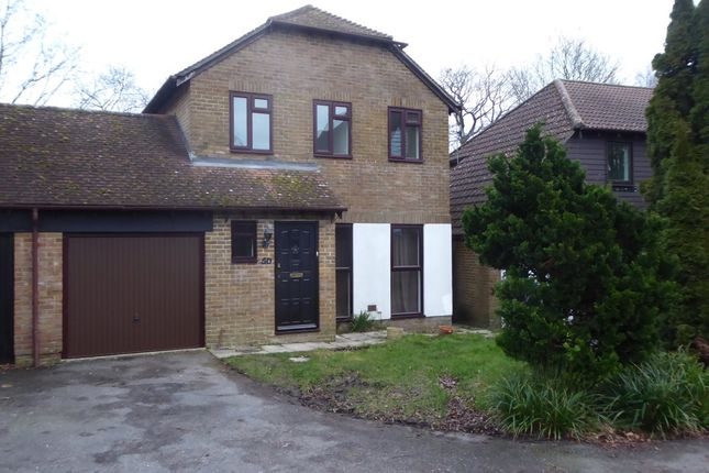 Thumbnail Detached house to rent in Bridger Way, Crowborough