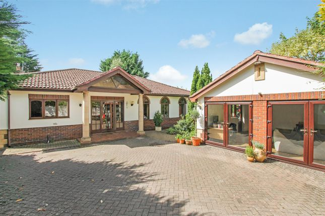 Thumbnail Detached bungalow for sale in The Park, Leckhampton, Cheltenham