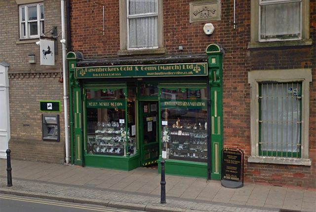 Thumbnail Retail premises for sale in High Street, March