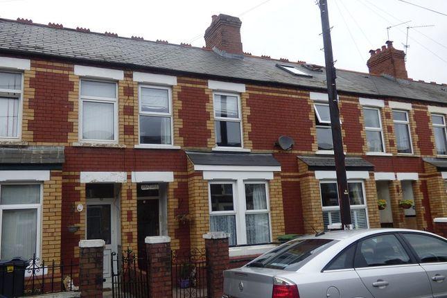 Terraced house for sale in Coronation Road, Birchgrove, Cardiff.