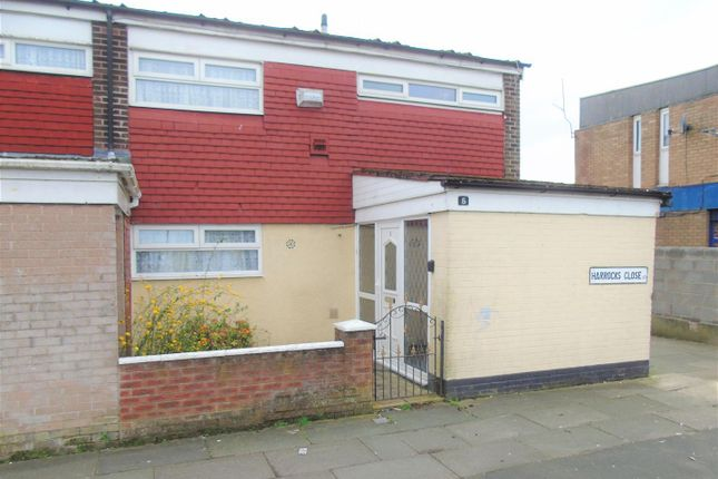Thumbnail Town house for sale in Harrocks Close, Netherton, Bootle